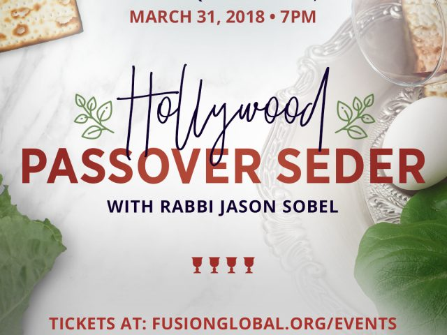 Passover Seder Hollywood 2018