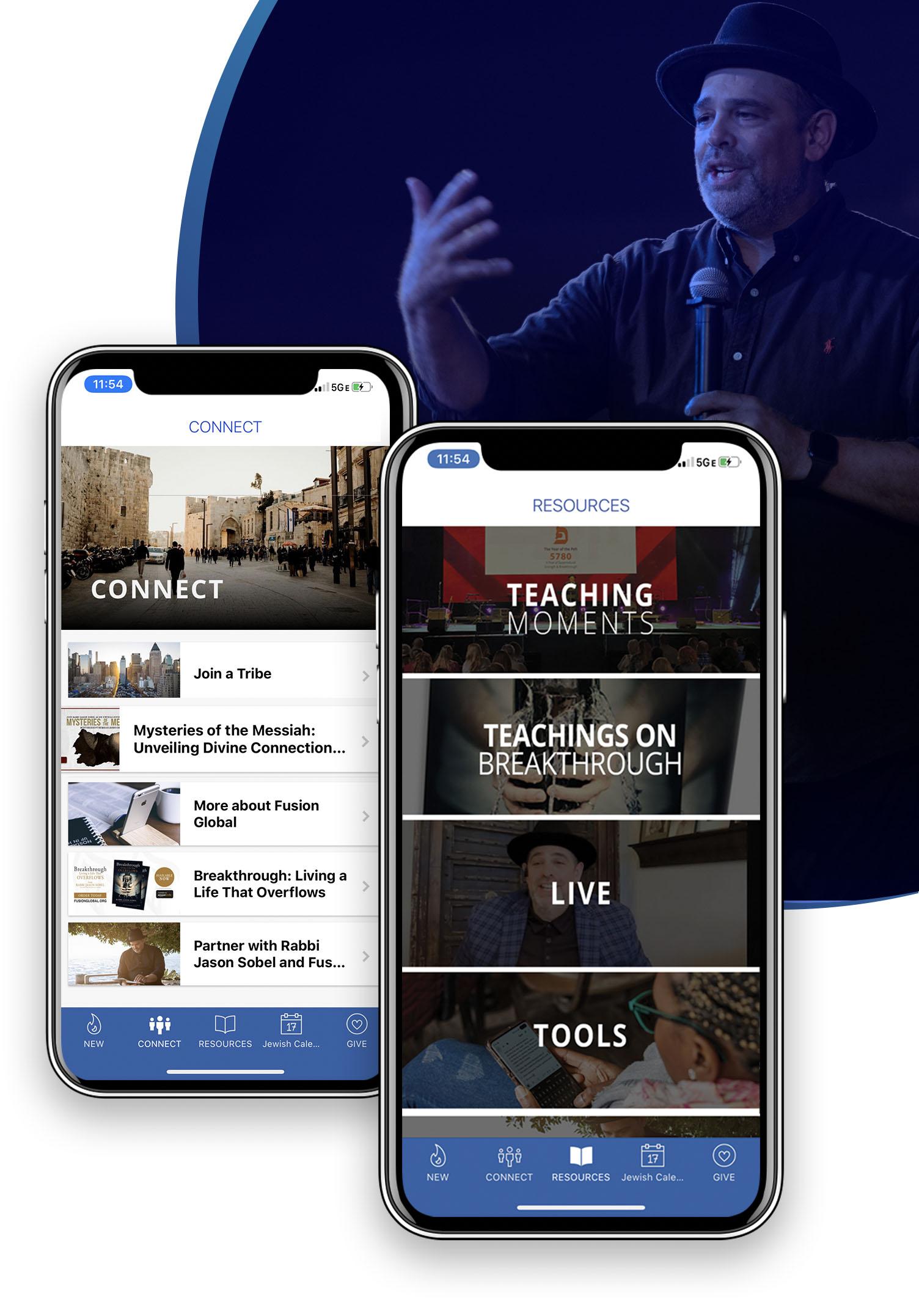 Fusion App Layout